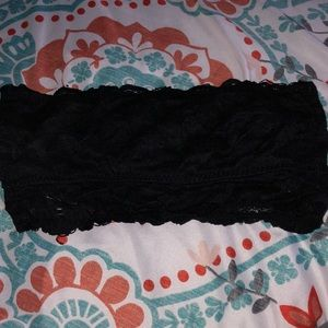 Forever 21 Black Lace Bandeau